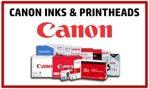 Canon Ink, Printheads & Maintenance Cartridges