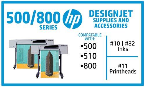 HP Designjet 500 510 800 Ink Supplies