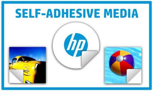 HP Self-adhesive Media