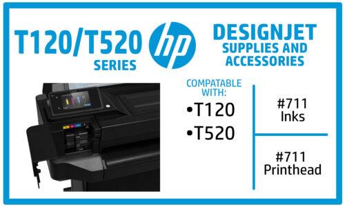 HP Designjet T520-T120 Ink Supplies