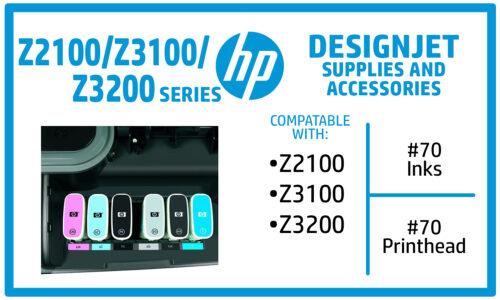 HP Designjet Z2100 Z3100 Z3200 Ink Supplies