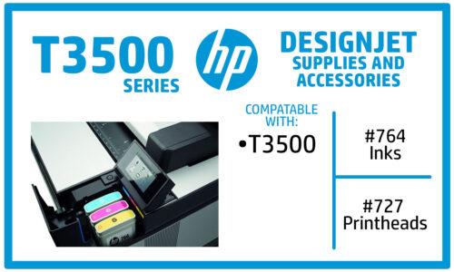 HP Designjet T3500 ink