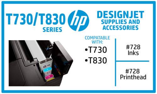 HP Designjet T730 T830 Ink Supplies