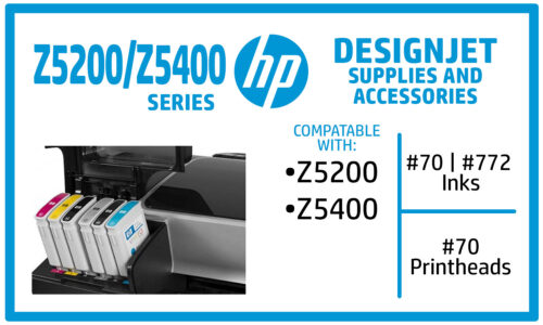 HP Designjet Z5200 Z5400 Ink Supplies
