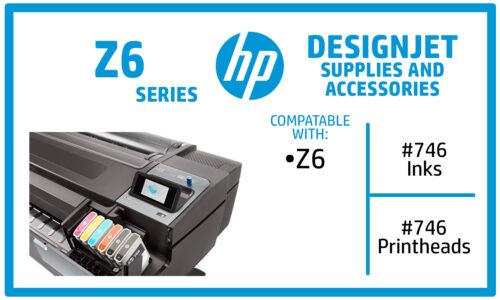 HP DesignJet Z6 Ink Cartridges