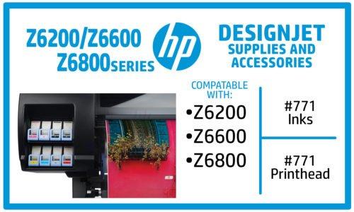 HP Designjet Z6200 Z6600 Z6800 Ink Supplies