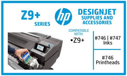 HP DesignJet Z9+ Ink Cartridges
